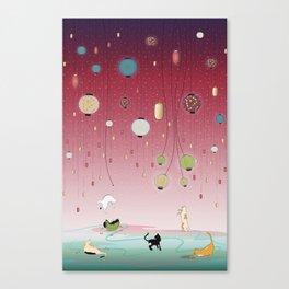 Cat's Paradise Canvas Print