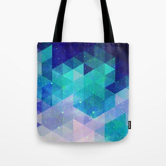 Geometric and electric Tote Bag