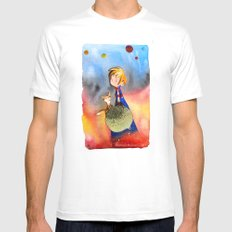 Little Prince Mens Fitted Tee MEDIUM White