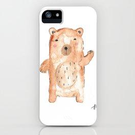 Hello Bear iPhone Case