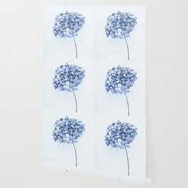 Hydrangea Blue 2 Wallpaper