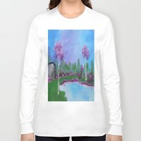 relax Long Sleeve T-shirts featuring relax by Krista May