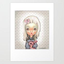 ppinkydolls art print Art Print