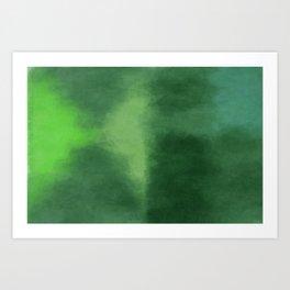 Dark Sea Green Art Print