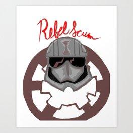 Rebel Scum Art Print