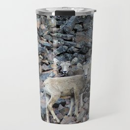 Adorable Twins (Landscape) Travel Mug