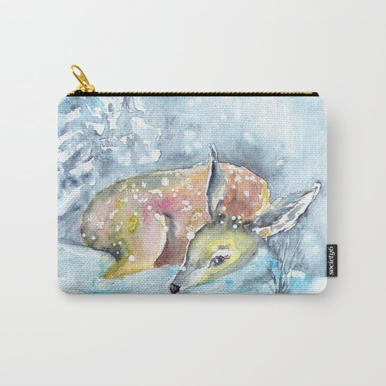 Winter animal #14 Carry-All Pouch