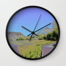 Chromascape 10: Snowdon Wall Clock