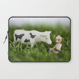 Baldy & Cow Laptop Sleeve