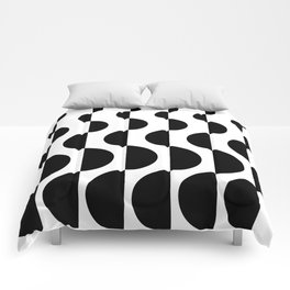 ROUND_WAVES Comforters