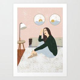 Bedtime Art Print