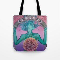 The gate of knowledge Tote Bag