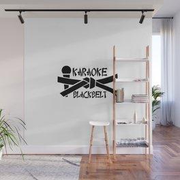 Karaoke Blackbelt Wall Mural