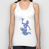 aladdin Tank Tops featuring Aladdin Disneys by Carma Zoe