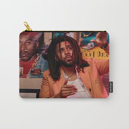 J Cole Poster, Dreamville Art, Music Poster, Hip Hop Print, Home Decor, Rapper Wall Art, Custom Poster, Canvas Poster, Rolled Canvas Carry-All Pouch