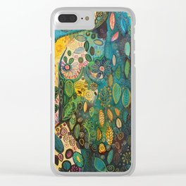 Kissed by the sky Clear iPhone Case