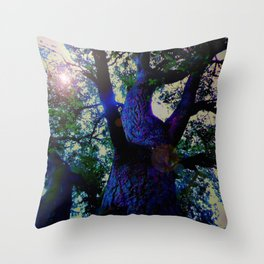 """A Conversation With Ents"" Throw Pillow"