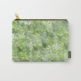 floral flower pattern Carry-All Pouch