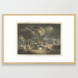 African Hospitality, John Raphael Smith, after George Morland, 1762 - 1812 Framed Art Print