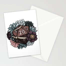 Monk Class D20 - Tabletop Gaming Dice Stationery Cards