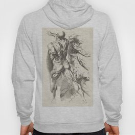 Anatomical study of three figures, 17th Century Hoody