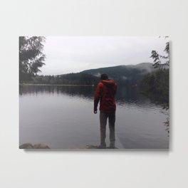 Buntzen Lake BC Metal Print
