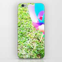 plain iPhone & iPod Skins featuring Plain Sight by Rachel