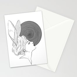 In the hole Stationery Cards
