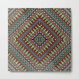 Ethnic tribal ornament Metal Print