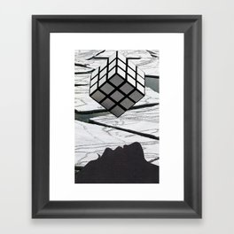 Vortices Framed Art Print