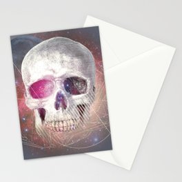 Astral Skull Stationery Cards