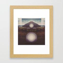 Ocean Islands Framed Art Print