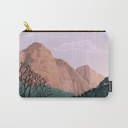 Zion National Park, Utah, USA Illustrated National Parks Carry-All Pouch