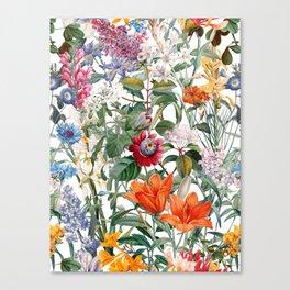 Vintage Garden IX Canvas Print