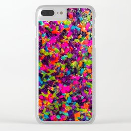 Unicorn Poo Clear iPhone Case