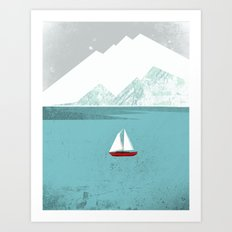 Dawn Treader Art Print