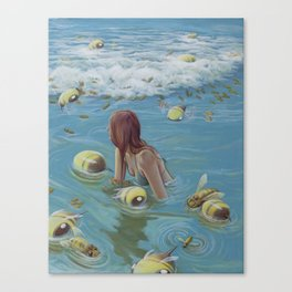 Hope Can Float Canvas Print