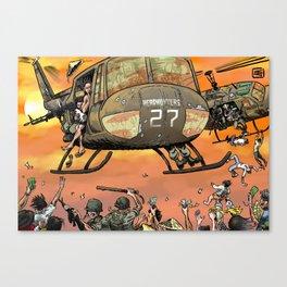 Fall of Saigon Canvas Print