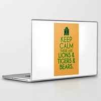 dorothy Laptop & iPad Skins featuring Keep Calm Dorothy by Rude and Insensitive