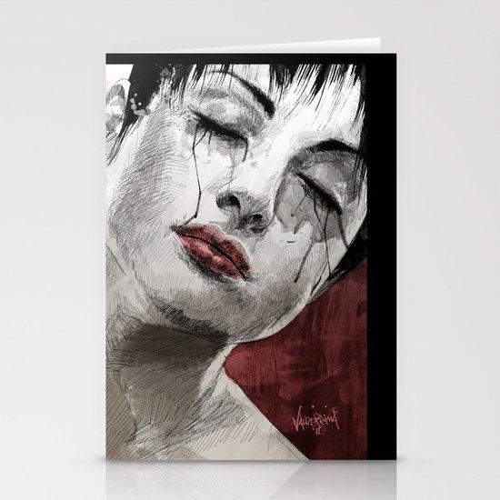 Venom and Tears Stationery Cards