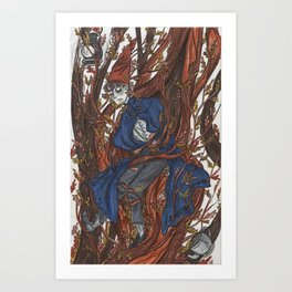 Wirt in the Edelwoods Art Print