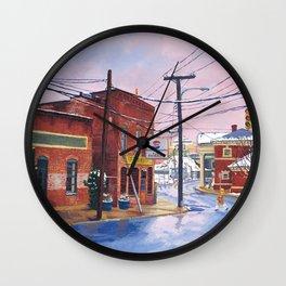Crossing, C-ville, VA Wall Clock