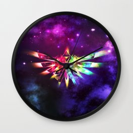 Triforce of Zelda Wall Clock