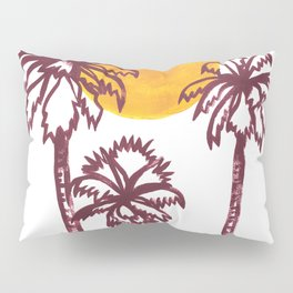 Luna Palm Pillow Sham