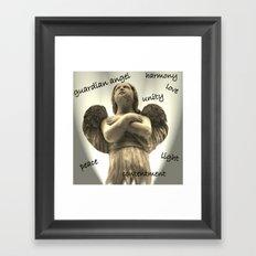 Gardian Angel Framed Art Print