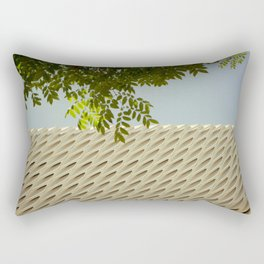 The Broad In the Afternoon Vintage Retro Photography II Rectangular Pillow