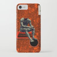 boxer iPhone & iPod Cases featuring Boxer by Frank Moth