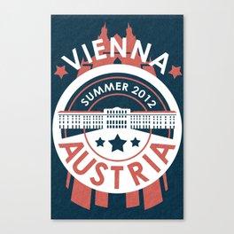 Vienna, Austria - Summer 2012 Canvas Print