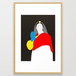 Pop Portrait · Ingres 7 Framed Art Print