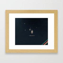 9. Broken heart Framed Art Print